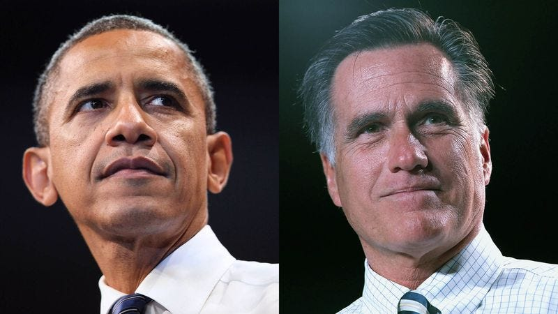 Illustration for article titled Obama, Romney Remain About Equally Powerful