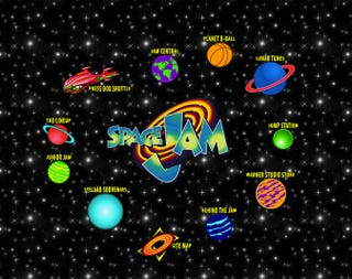 Illustration for article titled Space Jam website is a time portal into 1996