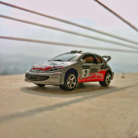 Illustration for article titled French Friday with MarcusGrönholm's 206 WRC