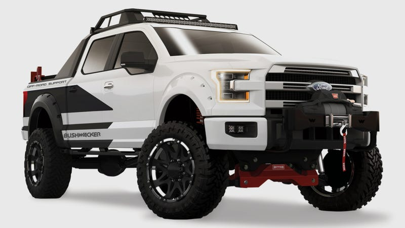 F150 Off Road >> The Bushwacker 2015 Ford F 150 Is For Extreme Off Road Rescues
