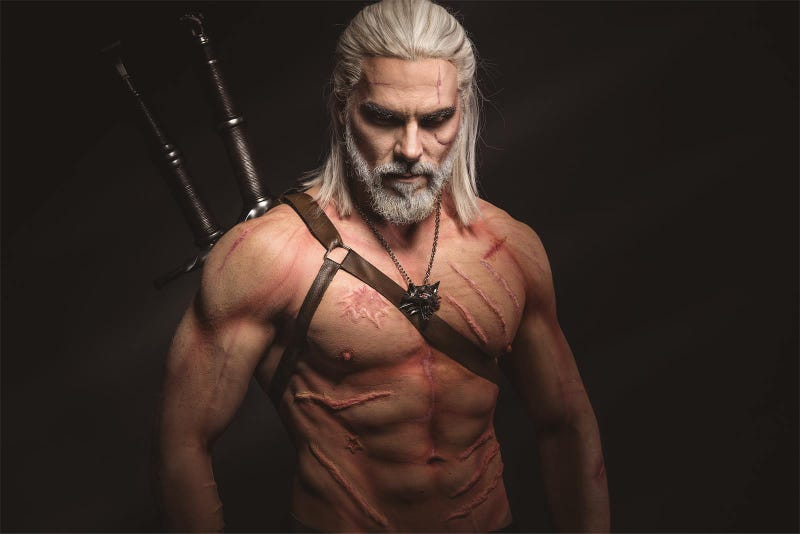 From Regular Dude To Geralt Of Rivia