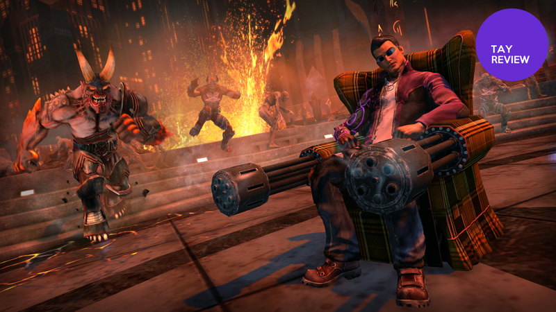 Illustration for article titled Saints Row IV: Gat Out of Hell: The TAY Review