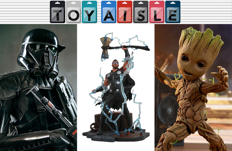 Illustration for article titled Life-Sized Star Wars and Guardians of the Galaxy Toys, and More of the Biggest Toys of the Week