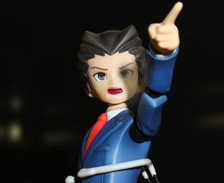 Illustration for article titled Dare You Object To These Phoenix Wright Figures?