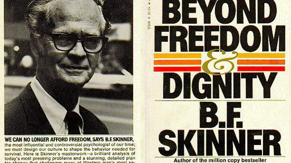 how do the views of freud and skinner differ
