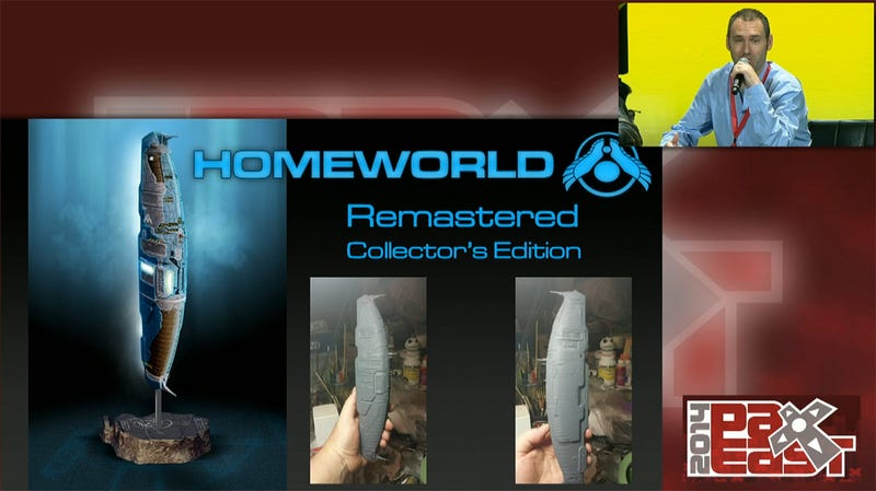 Illustration for article titled Homeworld Remastered Gets The Collector's Edition It Deserves