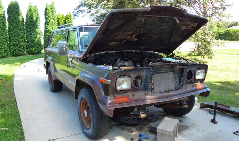 Illustration for article titled 'Mission Creep' Is Threatening to Take My 1979 Jeep Cherokee Golden Eagle Project Into Infinity