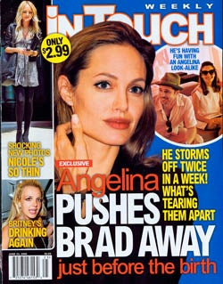 Illustration for article titled This Week In Tabloids: Jamie Lynn Is Jilted, Angelina Is Hormonal