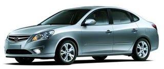 Illustration for article titled 2009 Hyundai Elantra Hybrid Brings Smug to Seoul