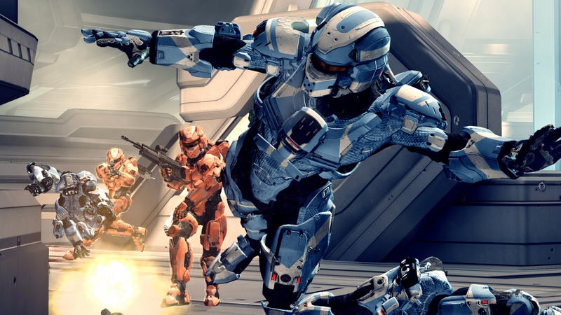 Leaked Halo 4 Art Reveals New Looks For Enemies and Multiplayer Models