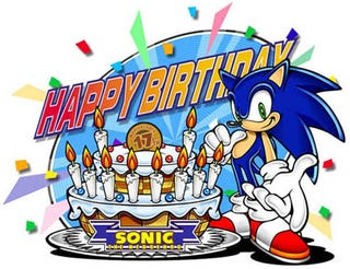 Illustration for article titled Happy Birthday Sonic!