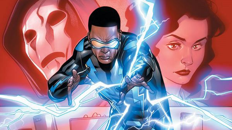 Image: DC Comics. Black Lightning: Cold Dead Hands #1 cover art by Clayton Henry.