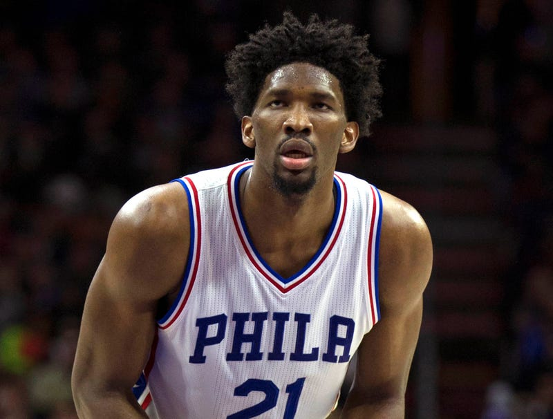 Illustration for article titled Joel Embiid To Miss Rest Of 3rd Rookie Season With Knee Injury