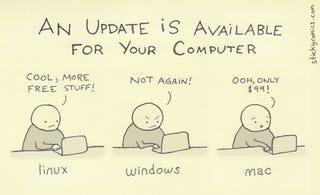 Illustration for article titled Choose Your Own Software Update Adventure