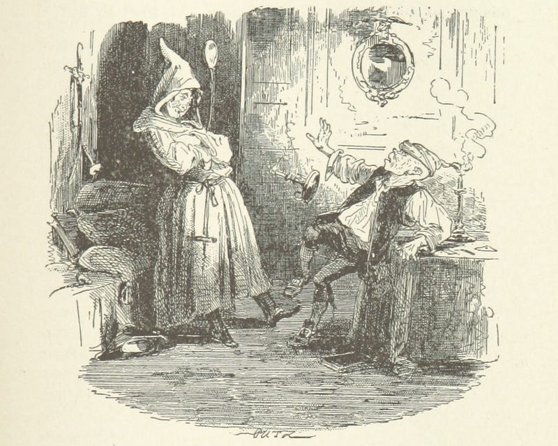 Illustration for article titled When the Monk Caught a Sprite in the Kitchen