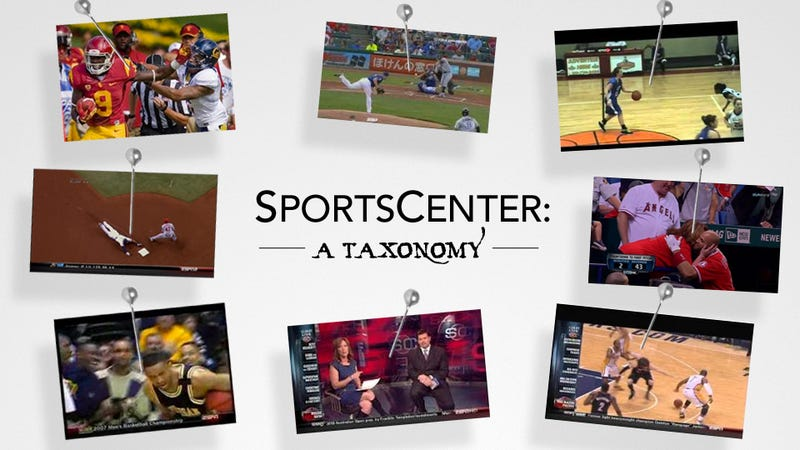 Illustration for article titled The 17 Types Of Highlights You See On SportsCenter
