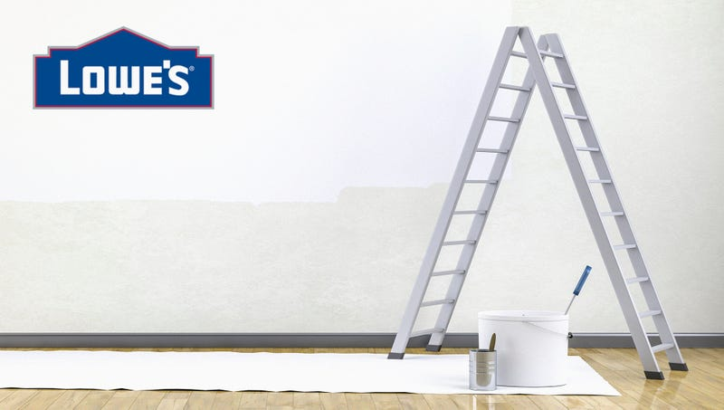 Illustration for article titled Lowe's Introduces 2-Way Ladder User Can Also Climb Down
