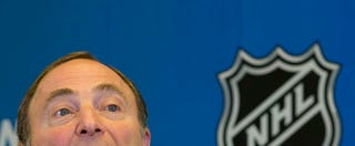 Illustration for article titled Gary Bettman Bungles Answer About Sexist Chants In Hockey