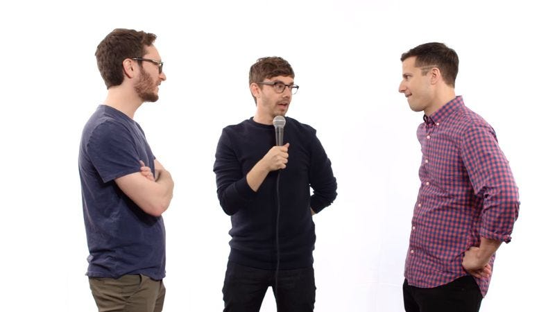 Screenshot: The Lonely Island Have A Compliment Battle