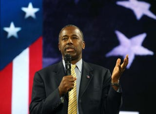 Republican presidential candidate Ben Carson in 2015Mark Wilson/Getty Images