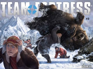 Illustration for article titled Team Fortress Comics #3 Is Here!
