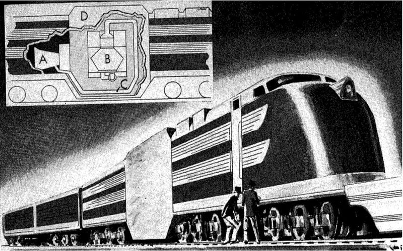 Illustration for article titled The Days of Atomic Locomotives in America