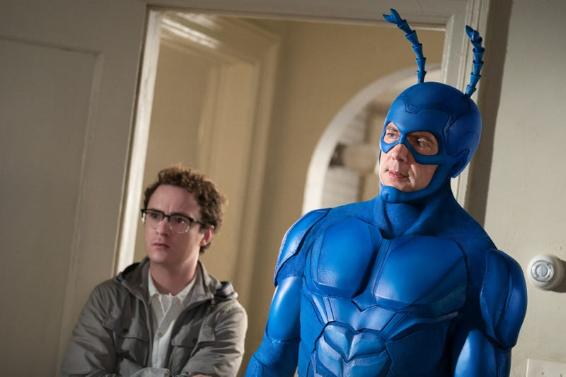 Illustration for article titled The Tick finally reveals the truth behind the Very Large Man in an intense episode