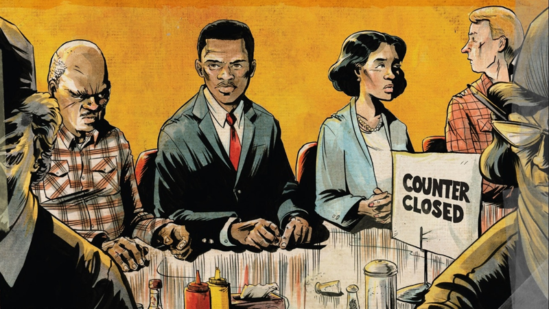 Illustration for article titled John Lewis' Acclaimed Graphic Novel March Is Becoming an Animated Series
