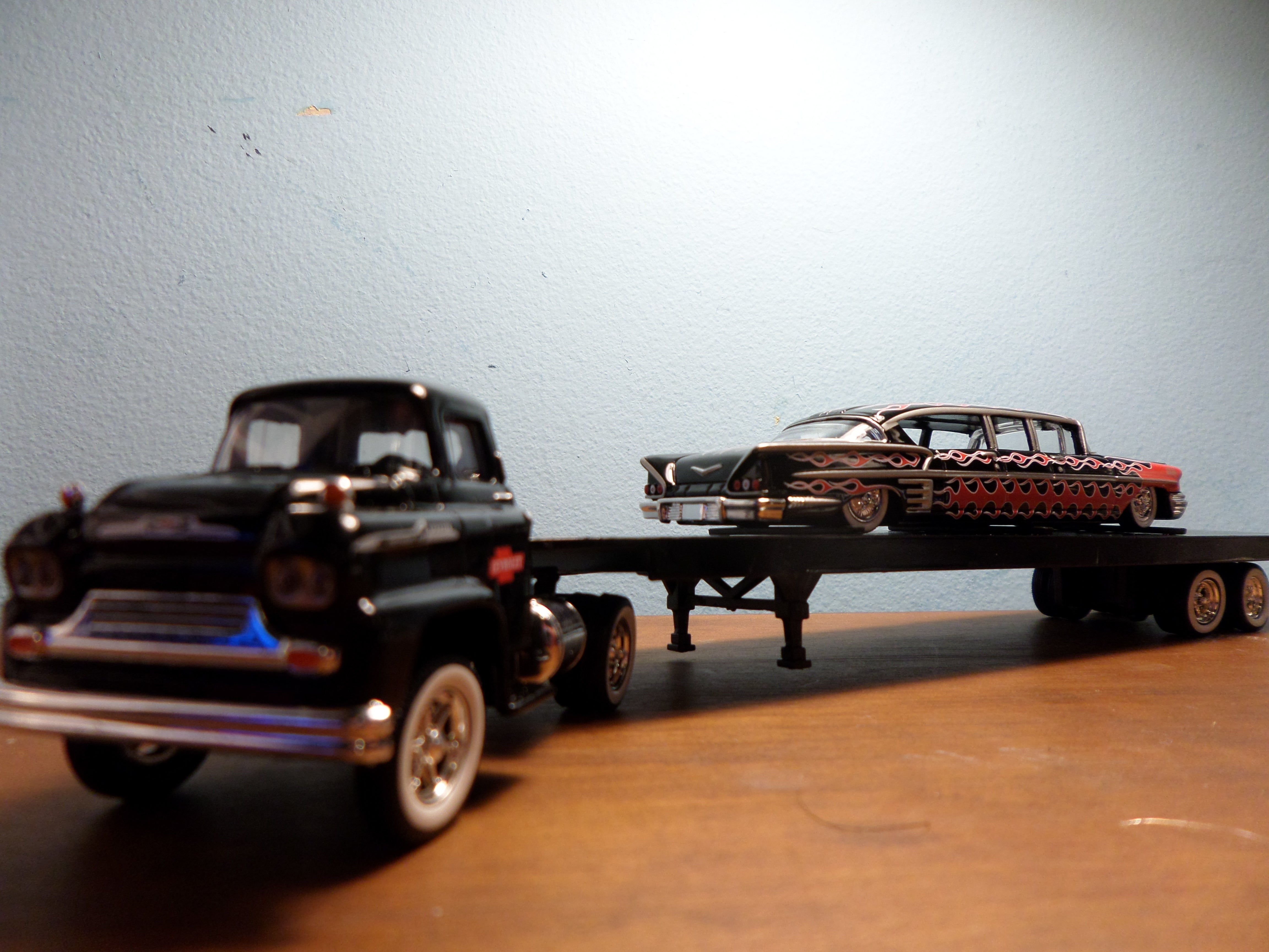 review m2 1958 chevy lcf impala limo. Black Bedroom Furniture Sets. Home Design Ideas