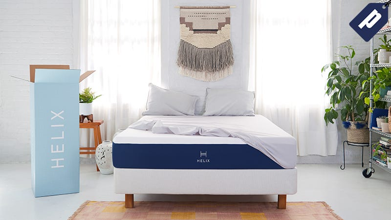 Illustration for article titled Sleep Well And Save Up To $150 On A Customized Mattress From Helix