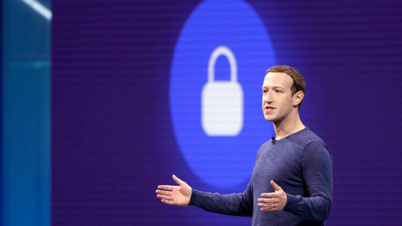 Facebook CEO Mark Zuckerberg makes the keynote speech at F8, theFacebook's developer conference.