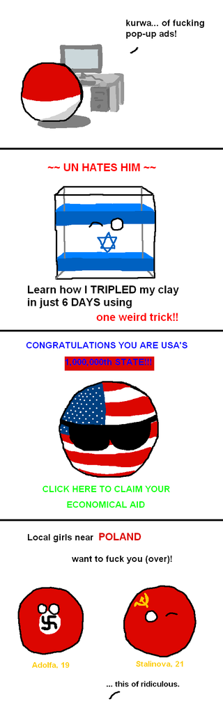 Illustration for article titled Daily Polandball: Popups.