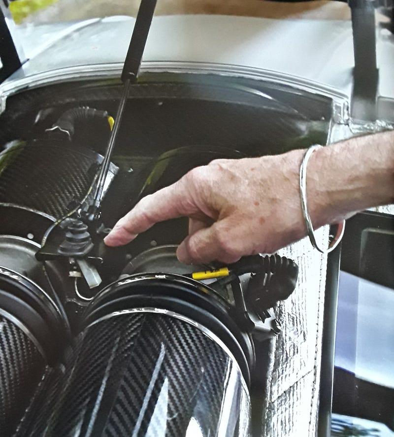 """Illustration for article titled McLaren F1 Design """"Flaw"""""""