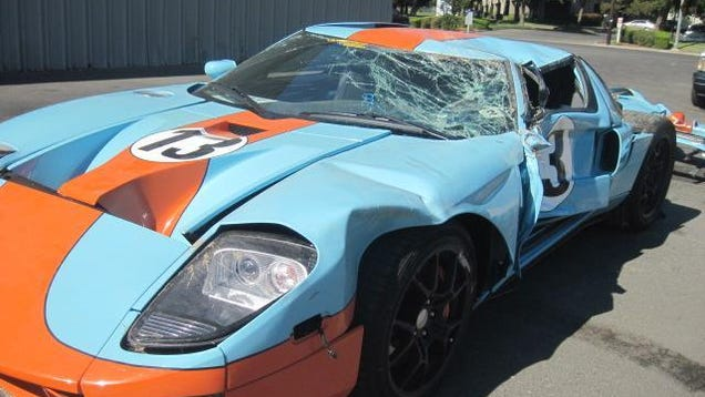 how much is a totaled ford gt worth to you. Black Bedroom Furniture Sets. Home Design Ideas