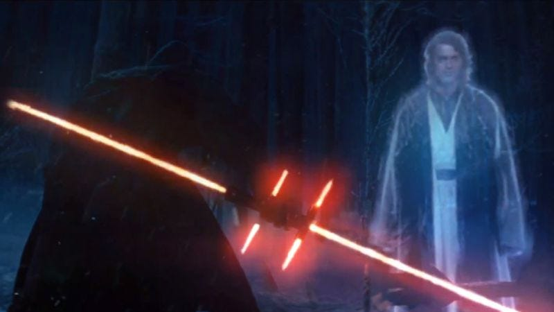 Illustration for article titled Here's what George Lucas would do with the new Star Wars trailer