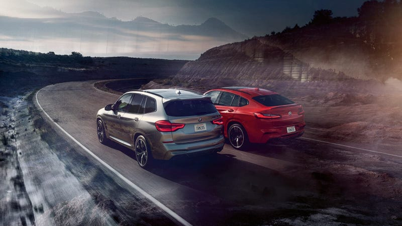 Illustration for article titled The 2020 BMW X3 M starts at $69,900; X4 M at $73,400