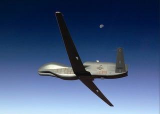 Illustration for article titled Global Hawk Sets Robot-Plane Endurance Record