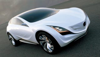 "Illustration for article titled Mazda Kazamai Brings ""Sustainable Zoom-Zoom"" To Moscow Auto Salon"