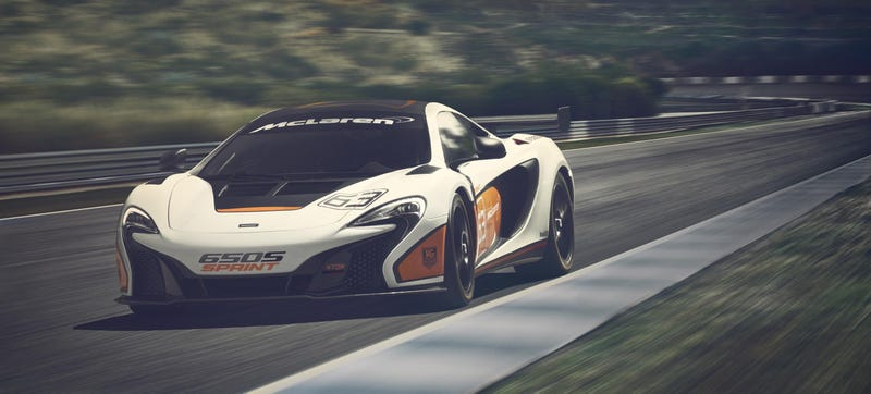Illustration for article titled The McLaren 650S Sprint Will Debut At Donington Park This Weekend