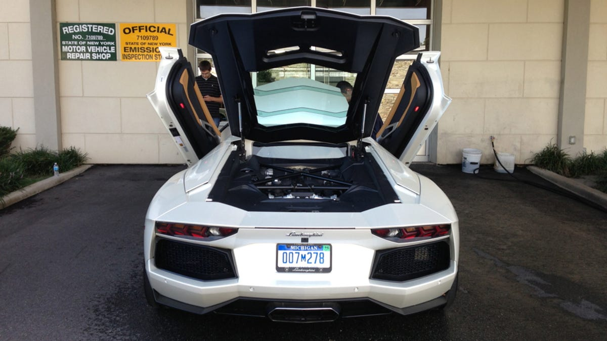 Does a lamborghini have a trunk