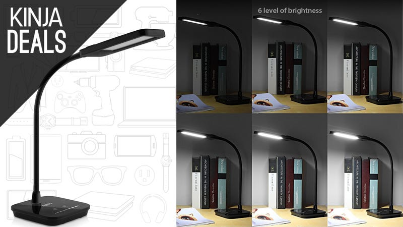 Illustration for article titled Light Up Your Workspace With This $18 LED Desk Lamp