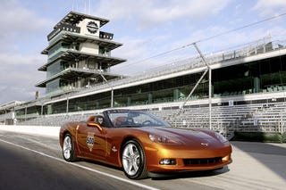 Illustration for article titled I Am Indy: Chevrolet's 2007 Indianapolis 500 Corvette Pace Car Replica