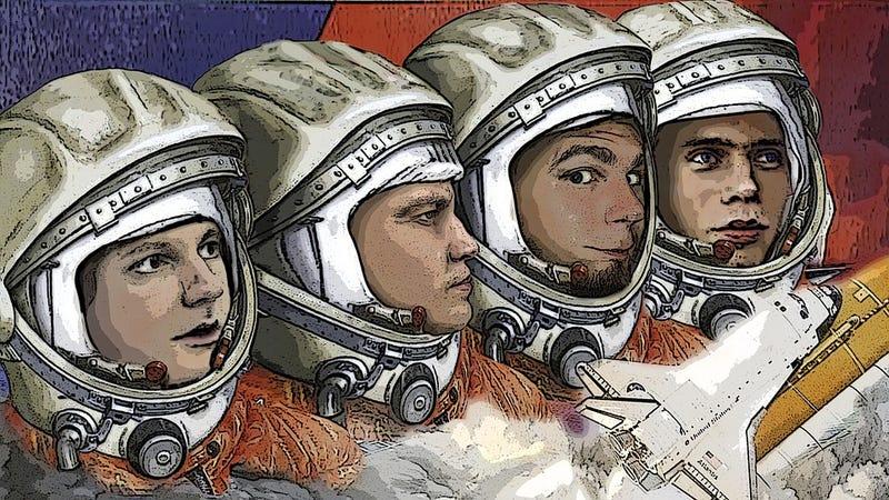 Illustration for article titled Por qué los astronautas rusos orinan en un neumático antes de un lanzamiento espacial