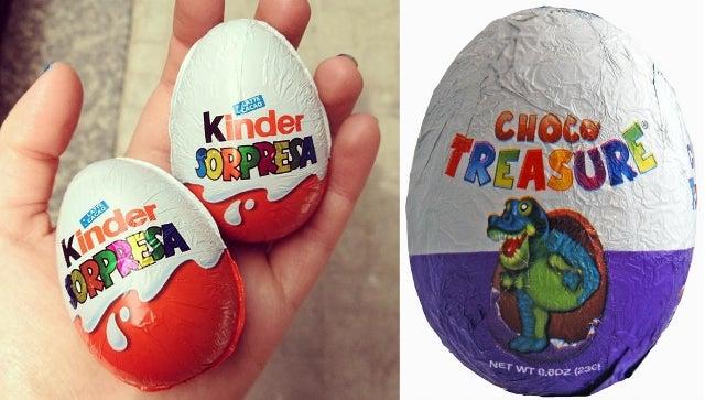 Us Ban On Kinder Surprise Eggs Finally Lifted Kinda