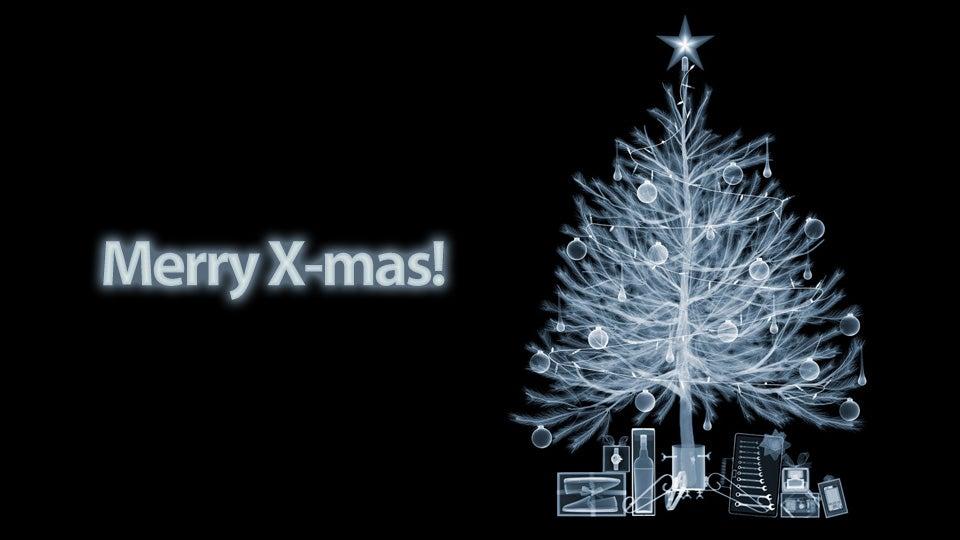 X-Ray X-Mas Tree Is X-tra Neat