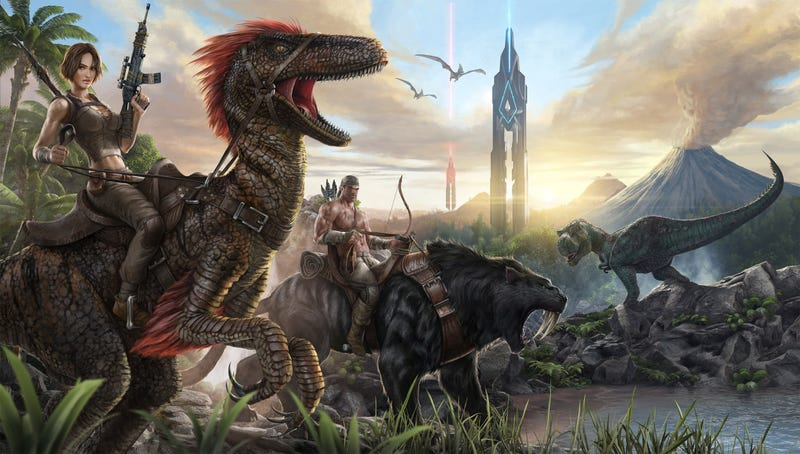 Illustration for article titled X-Bone of Ark: How Naked Jungle Pooping Breathed New Life Into My Console Gaming Experience