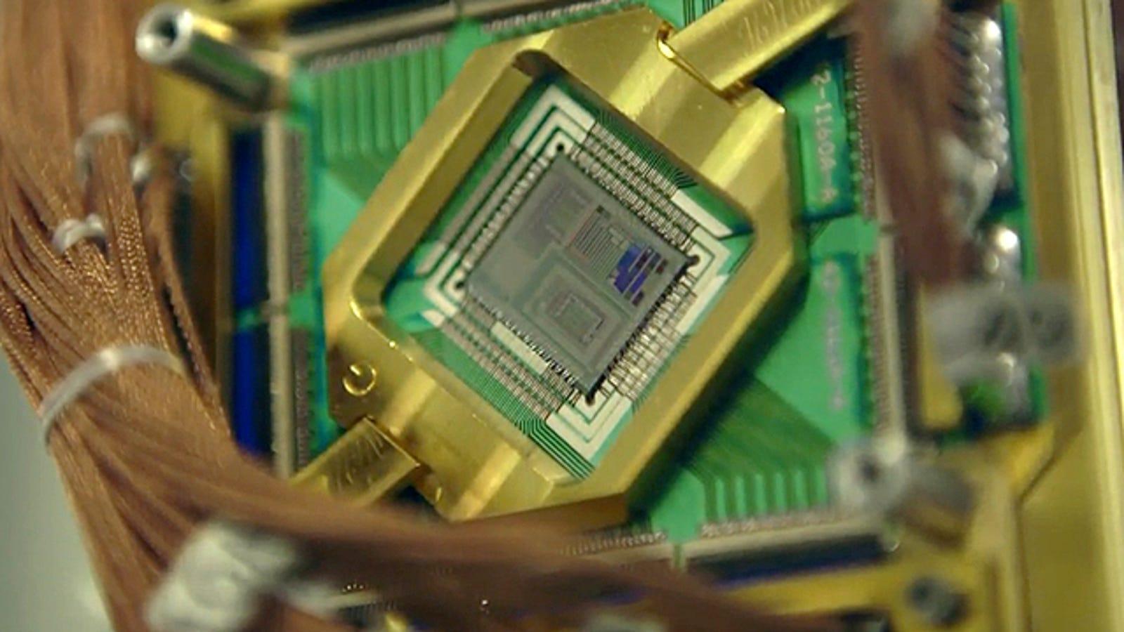 Un vistazo al laboratorio de computación cuántica de Google