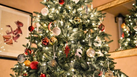 the best artificial christmas trees stands and lights for 2016
