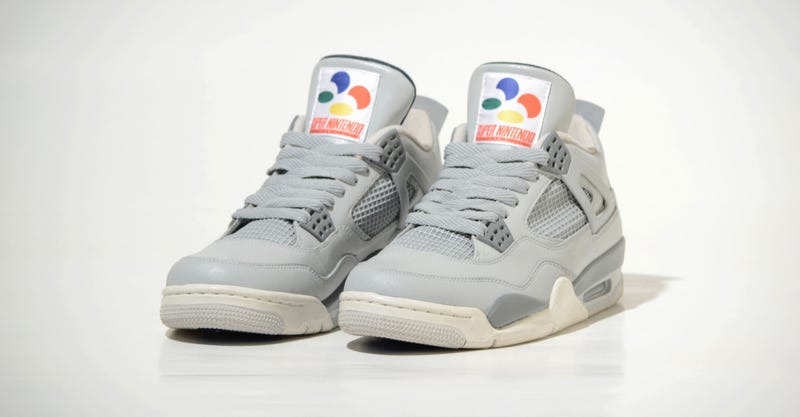 Illustration for article titled Damn, Look At These Super Nintendo Sneakers
