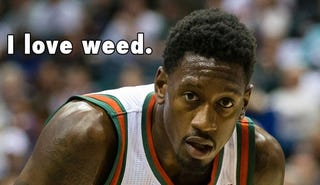 Illustration for article titled Larry Sanders Suspended for Smoking Weed...Again